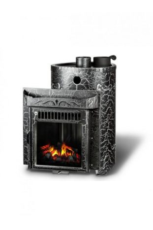 Дровяная печь для бани Ферингер Малютка До 16 м3 - Экран