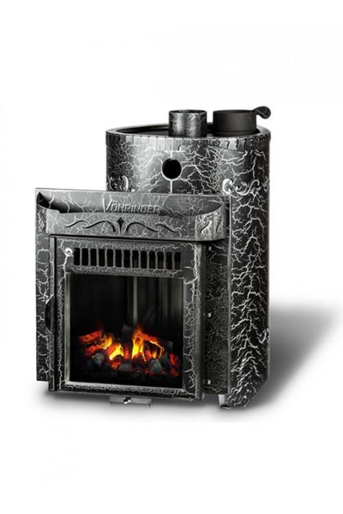 Дровяная печь для бани Ферингер Гармония До 30 м3 - Экран (Антик)
