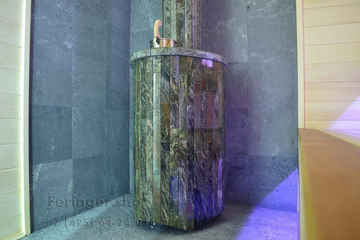 печь Ферингер «Ламель» Мини 'До 16 м³' - Жадеит