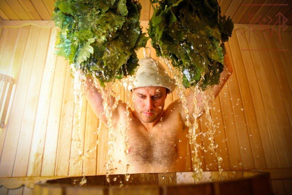 Как париться в бане с веником